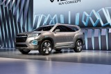 Un grand SUV Subaru dans les starting-blocks
