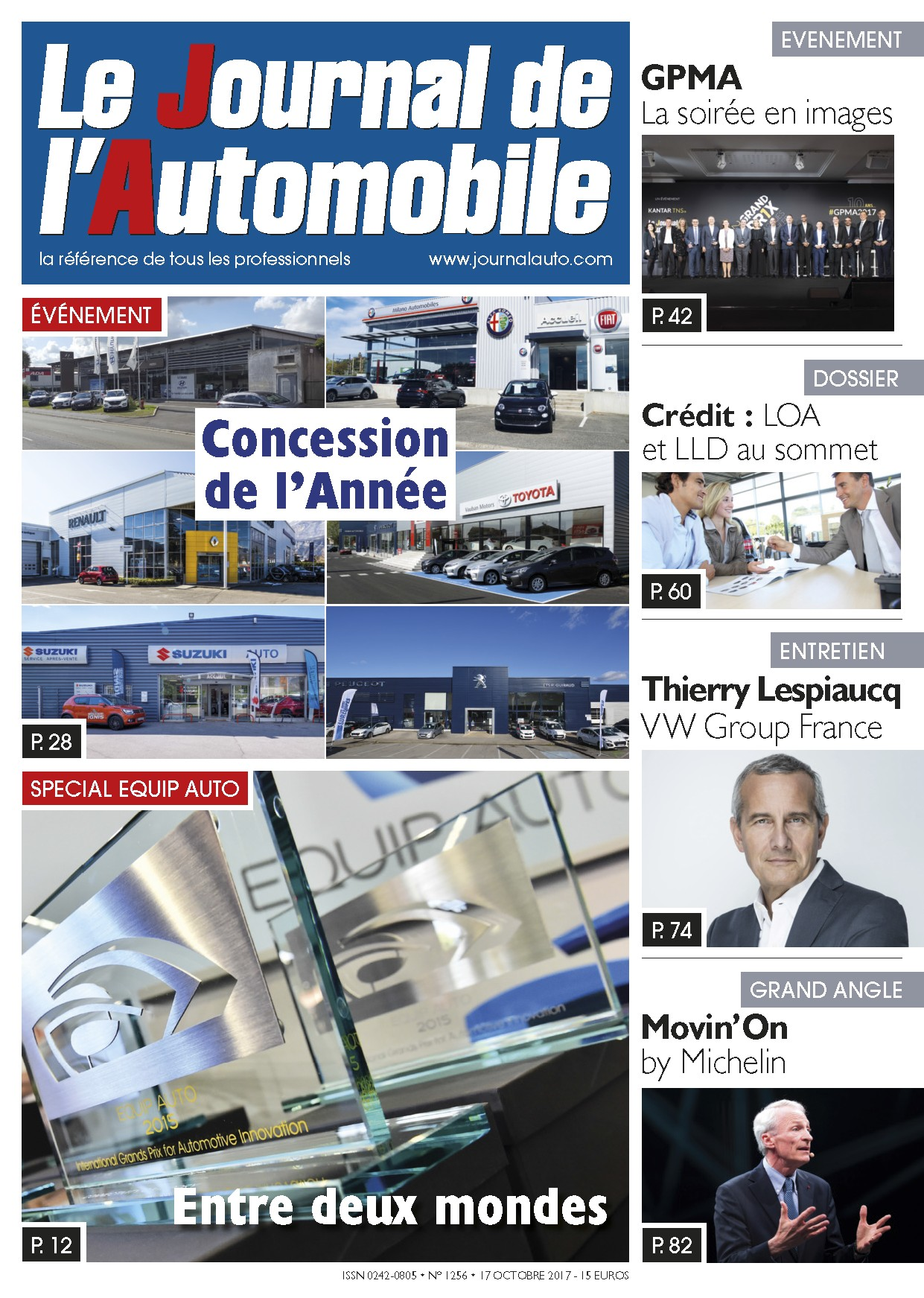 Le Journal de l'Automobile n°1256 ?>